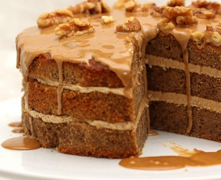 Coffee and Walnut Cake recipe