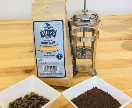 Cafetiére coffee tutorial