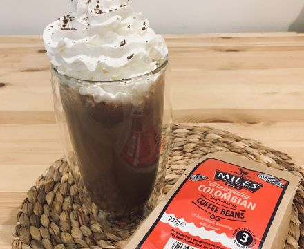 Chocolate and Coffee Milkshake