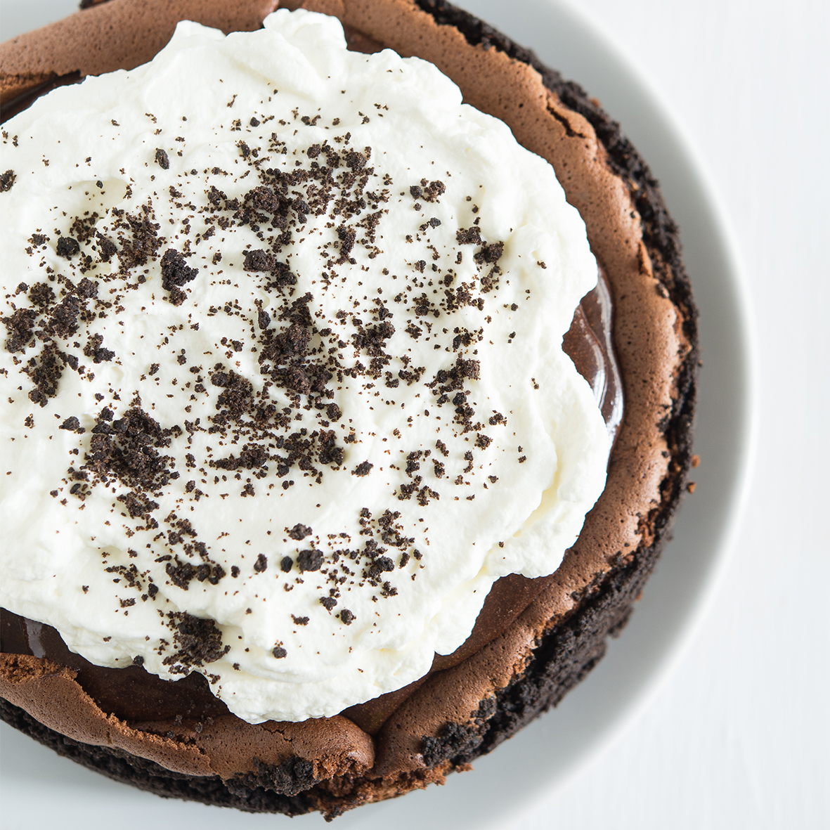 Rich and indulgent mocha mud pie made using Miles Ground Italian Espresso