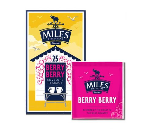 25 Berry Berry Envelope Teabags