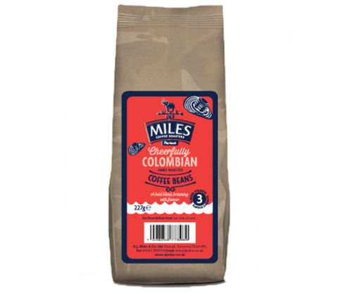 227g Beans Cheerfully Colombian Coffee