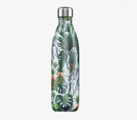 Chilly's Bottle Tropical Elephant Print