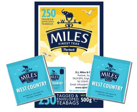 250 West Country Original Paper Enveloped Teabags
