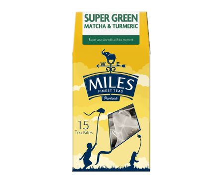 Super Green, Matcha & Turmeric Tea Kite