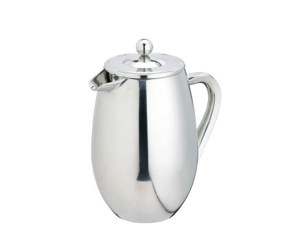 LeXpress 3 Cup Cafetiere Stainless Steel Double Wa