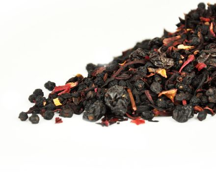 500g loose leaf Berry Berry tea