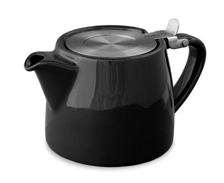 Graphite Black Stump Teapot