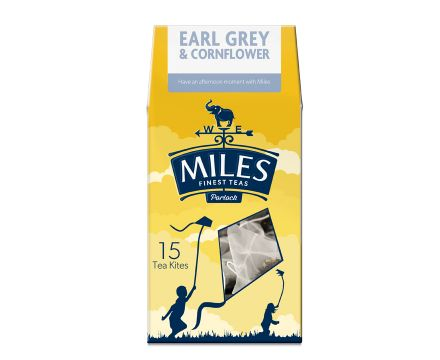 Earl Grey and Cornflower Tea Kite