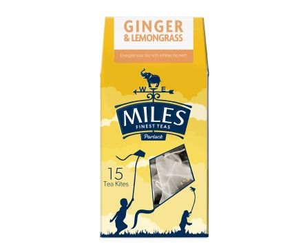 Ginger and Lemongrass Tea Kite