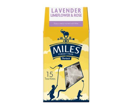 Lavender, Limeflower and Rose Tea Kite
